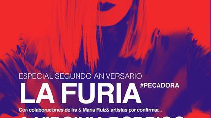 LA FURIA + Virginia Rodrigo en Madrid, Sala El Sol