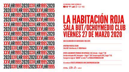 LA HABITACIÓN ROJA Gira 25 aniversario (Madrid)