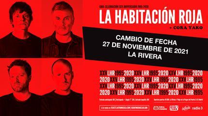 LA HABITACIÓN ROJA Gira 25 aniversario (Madrid) Cambio de fecha!!