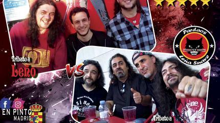 La Leñera Vs Pardaos Bandas tributos en Pinto Sala Opción