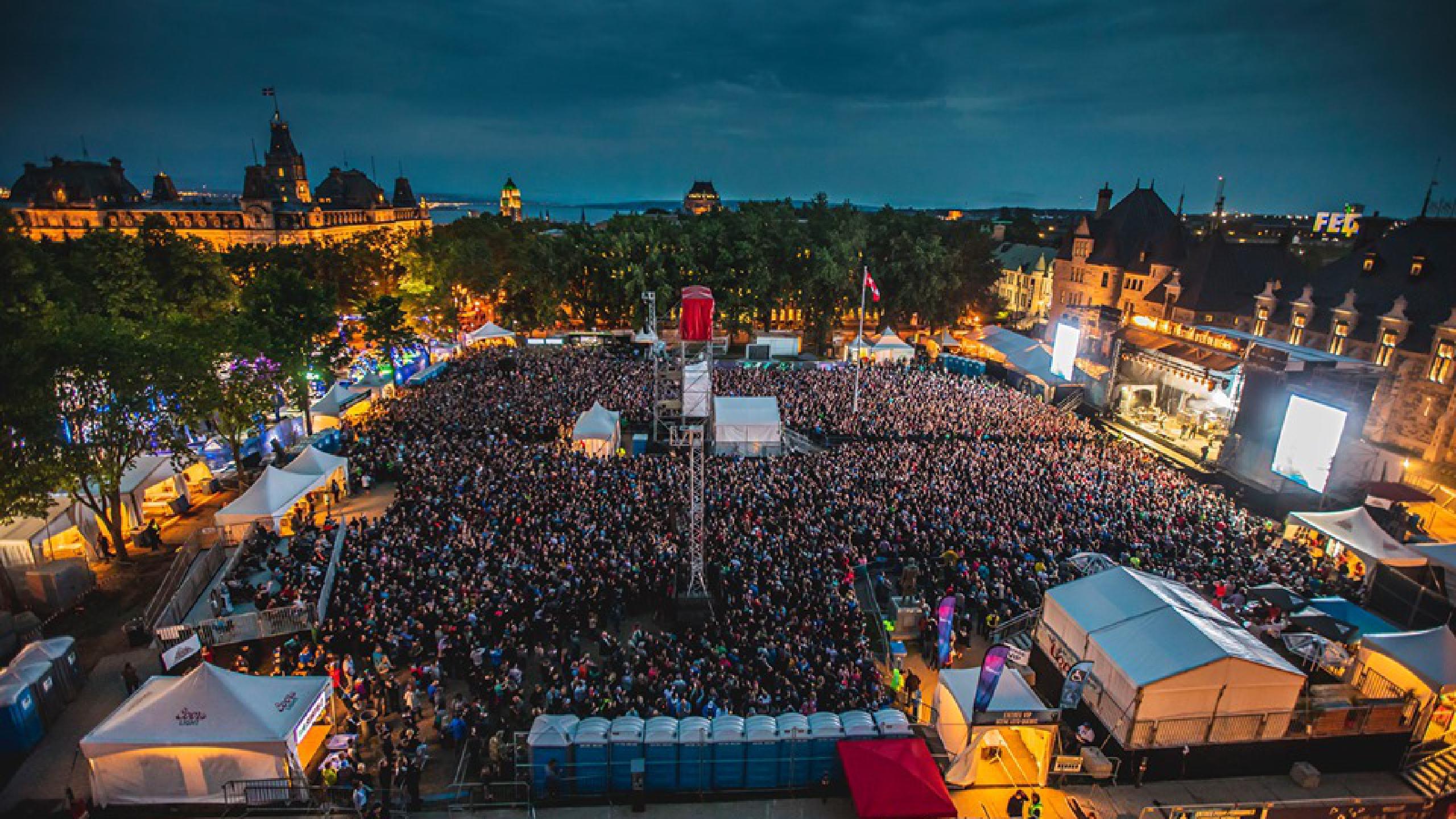 2020 Quebec City Summer Festival.Le Festival D Ete De Quebec 2020 Tickets Lineup Bands For