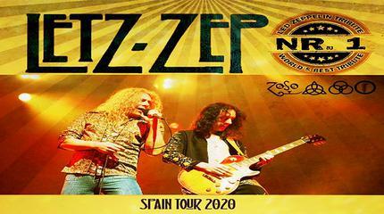Concierto de Letz Zep en A Coruña