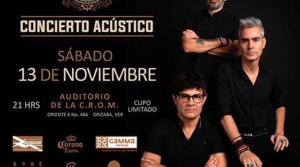 La Gusana Ciega concert in Orizaba