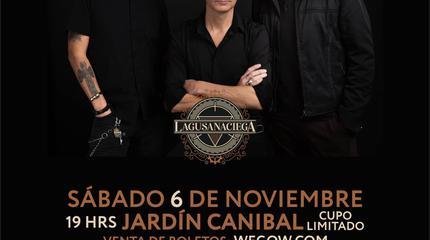 La Gusana Ciega concert in Pachuca
