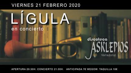 Lígula concert in Valladolid