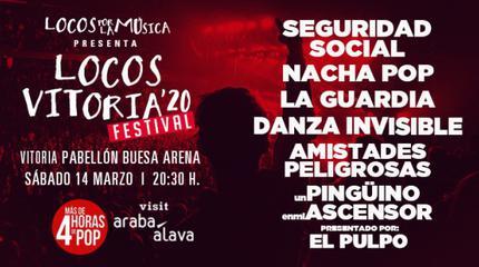 Nacha Pop + Seguridad Social + Amistades Peligrosas concert in Vitoria-Gasteiz