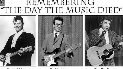 Los Cuervos, The Racers, Red Clyde & The Bonnies (Remembering the day the music died)