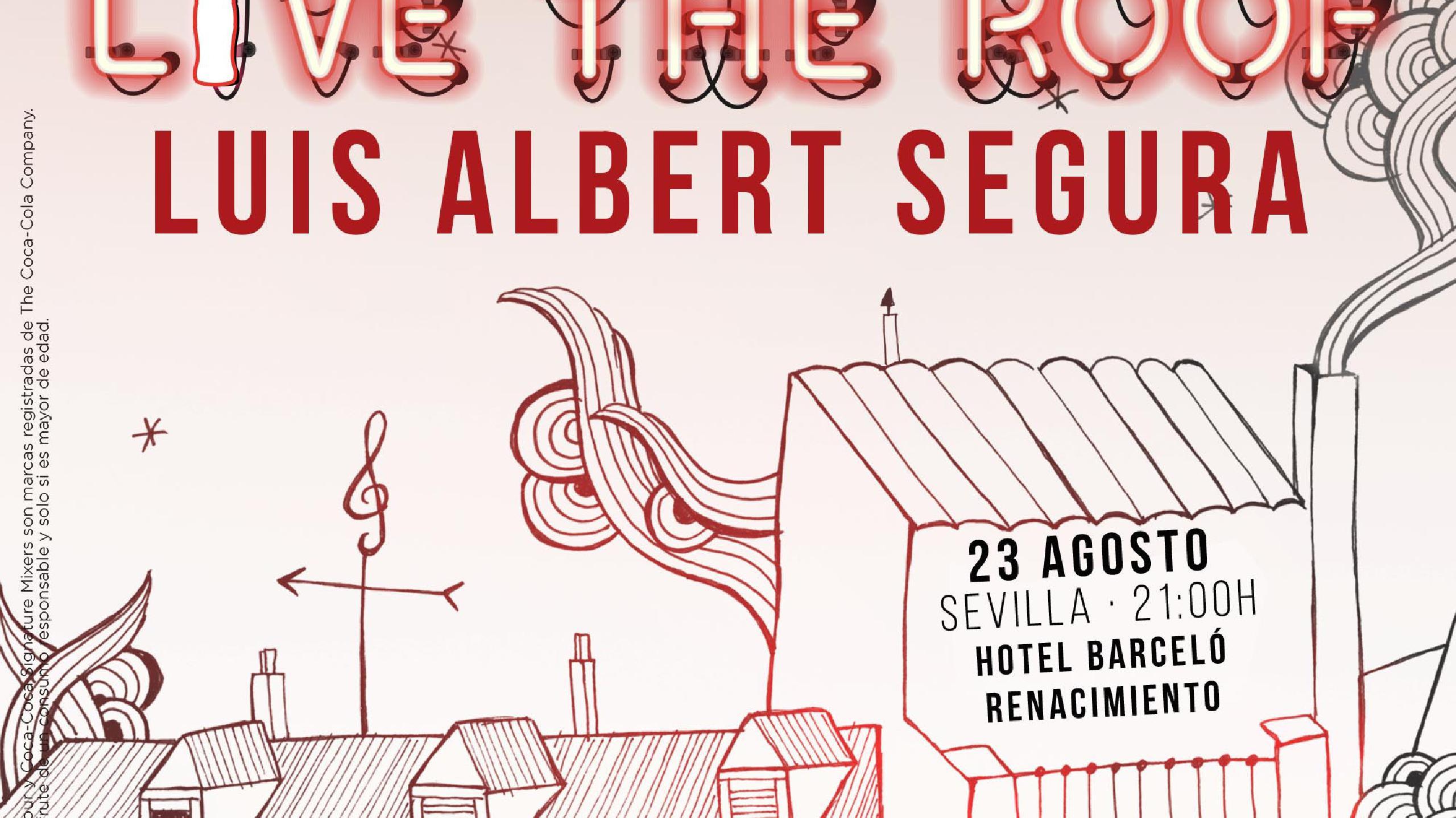 Luis Albert Segura Concert Tickets For Hotel Barceló