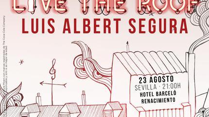 Luis Albert Segura en LIVE THE ROOF   Sevilla