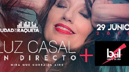 Concierto de Luz Casal + Billete de Ida en Madrid