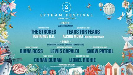 Konzert von Diana Ross in Lytham St Annes