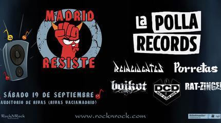 Madrid Resiste 2020 La Polla Records en concierto
