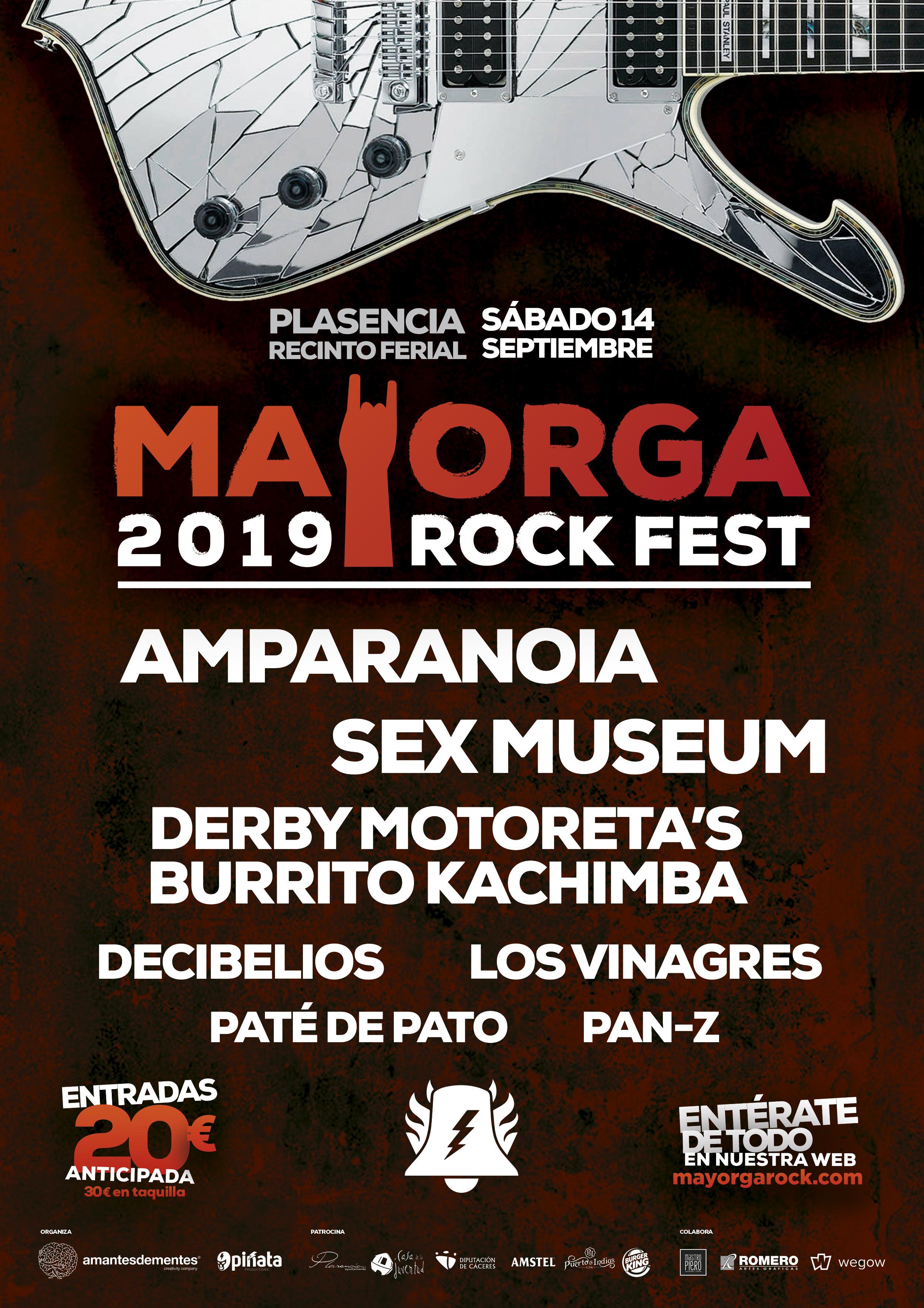 Resultado de imagen de mayorga rock festival