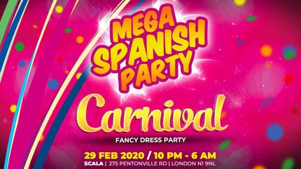 Mega Spanish Party / Carnaval