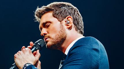 Konzert von Michael Bublé in Madrid