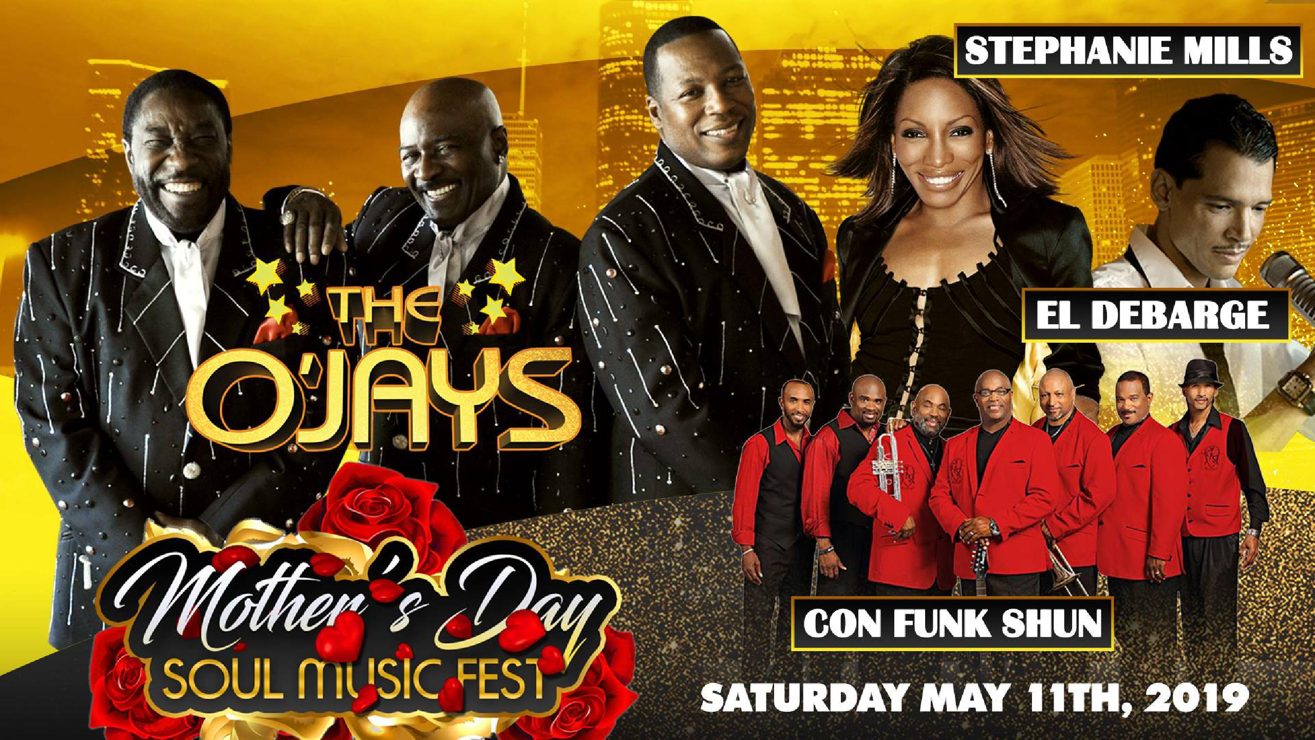 Mother's Day Soul Music Fest 2019  Tickets, lineup, bands for