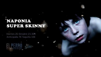 Naponia + Super Skinny concert in Madrid