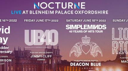 Nocturne Live at Blenheim Palace 2022