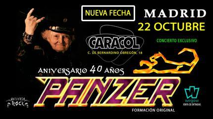 Panzer 40 Aniversario en Madrid