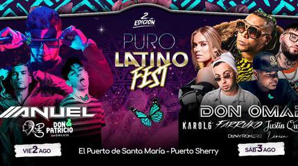 Puro Latino Fest 2019 en Puerto de Santa María