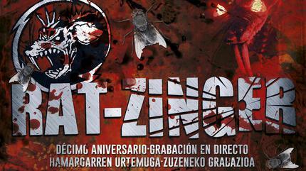 Rat-Zinger, décimo aniversario, y Shöck en Kafe Antzokia
