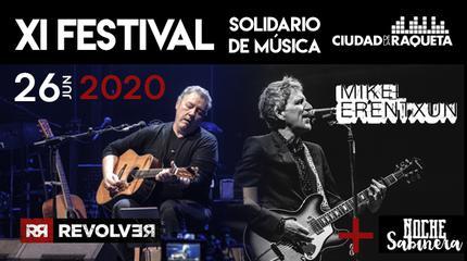 Konzert von Mikel Erentxun + Revolver + Noche Sabinera in Madrid