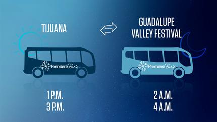 Roundtrip Shuttle Guadalupe Valley Wine, Food & Music Festival