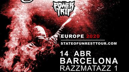 Route Resurrection presenta State of Unrest Tour (Madrid)