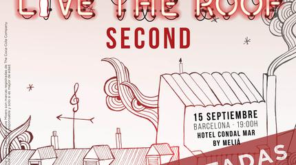Second en LIVE THE ROOF   Barcelona