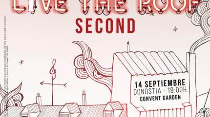 Second en LIVE THE ROOF | Donostia