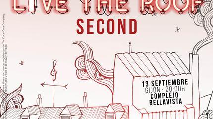 Second en LIVE THE ROOF   Gijón