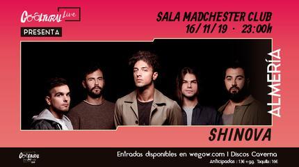 Shinova concerto em Almería