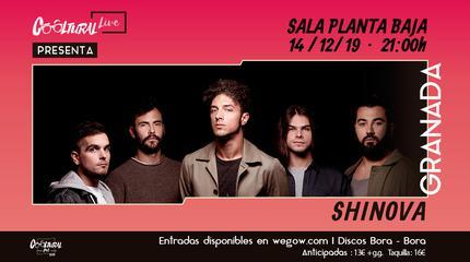 Shinova concerto em Granada