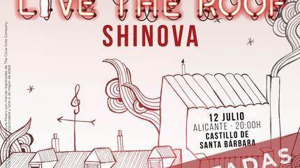Shinova en LIVE THE ROOF | Alicante