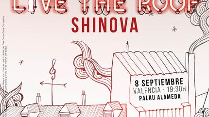 Shinova en LIVE THE ROOF | Valencia