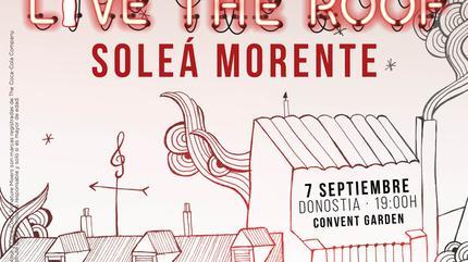 Soleá Morente en LIVE THE ROOF | Donostia