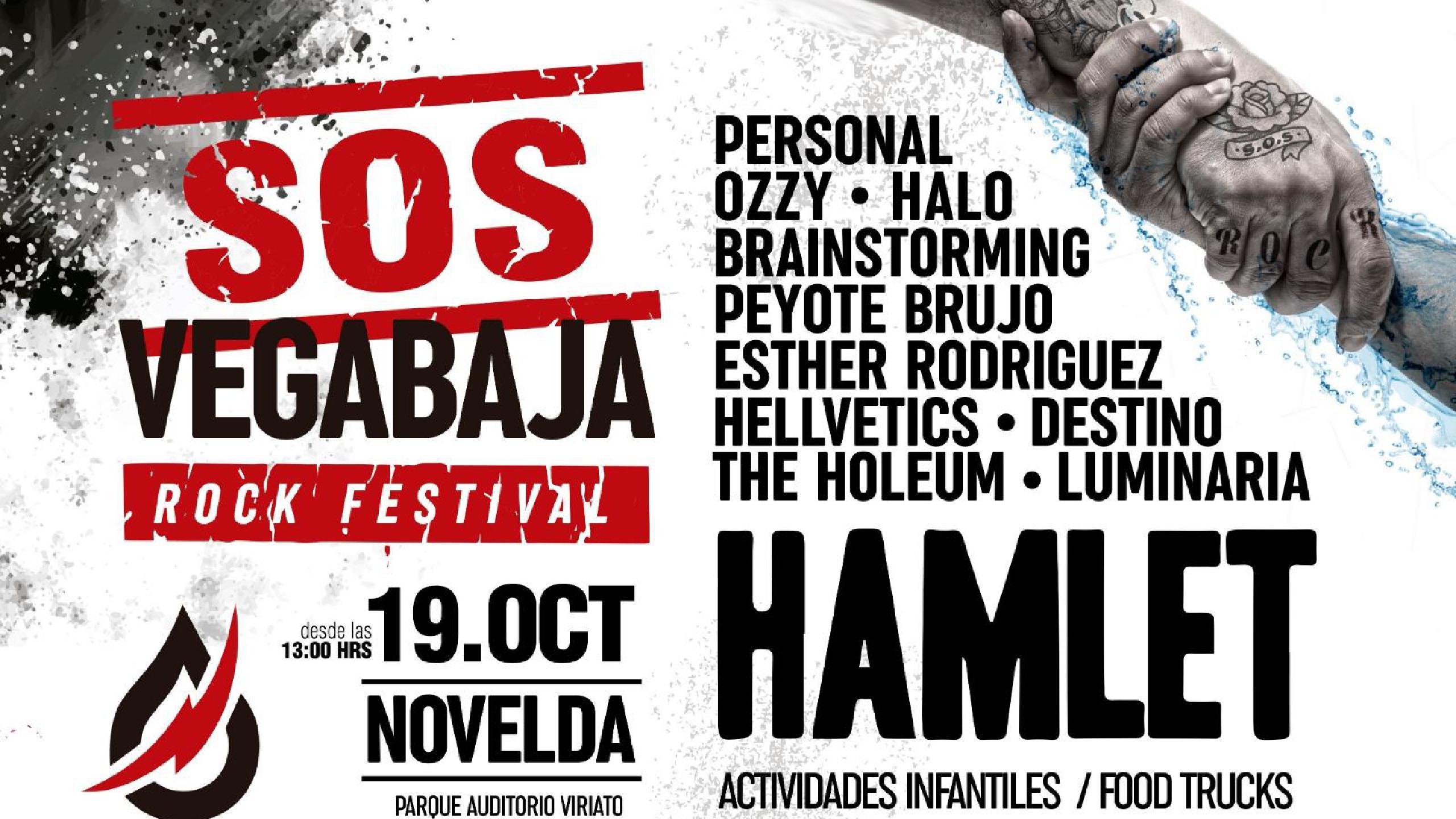 Resultado de imagen de sos vegabaja rock festival 2019