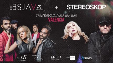 Stereoskop+Esjava en la sala Wah Wah (Valencia)