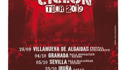 Terral en Madrid | Ciclón Tour 2019