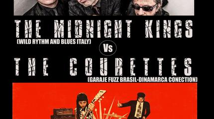 The Midnight Kings + The Courettes
