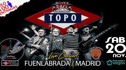 Topo concert in Fuenlabrada