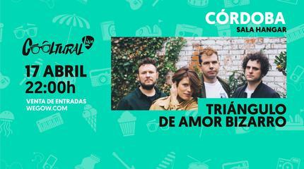Triángulo de Amor Bizarro concert in Córdoba
