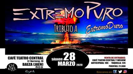 Tributo a Extremoduro. Café Teatro Central - BAEZA