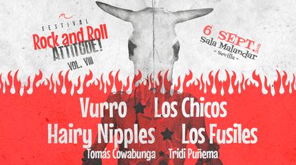 Vurro + Los Chicos + Los Fusiles + Hairy Nipples en Sevilla.