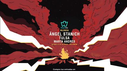 Ángel Stanich + Tulsa + Marta Andrés concerto a Valencia