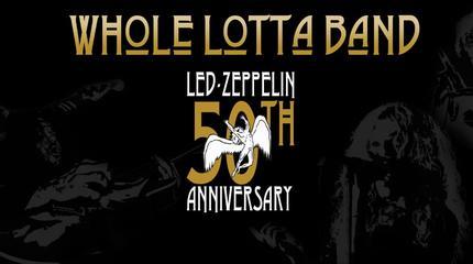 Konzert von Whole Lotta Band.Led Zeppelin Live Experience in Málaga