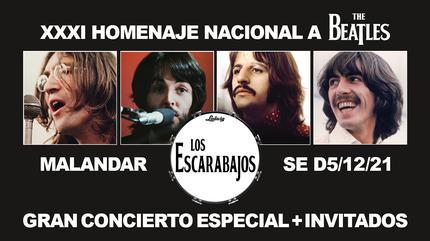 Los Escarabajos concerto em Sevilha