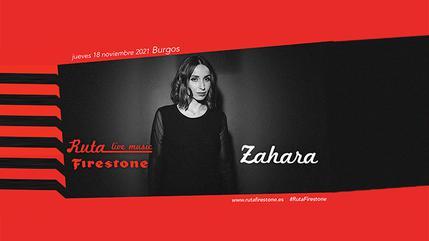 Zahara en concierto con Ruta Firestone