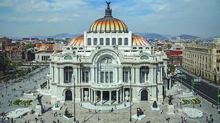 Palacio Bellas Artes situado en Ciudad de México