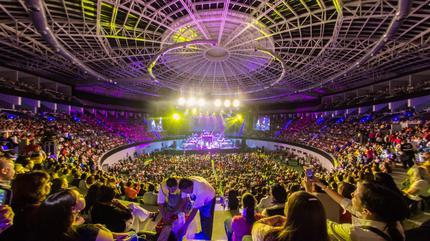 Coliseo centenario concierto